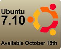 Ubuntu 7.10 Countdown
